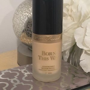 Too Faced Born This Way Foundation Swan